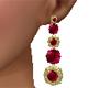 Quiet Burgundy Earrings