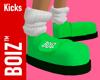 BOIZ Kicks Neon