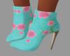 [BRI] Teal Pink Boots