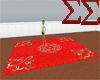 Red Decadent Rug