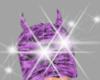 purple horn hat!!