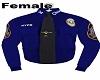 Police Shirt 2 Blue F
