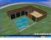 Log Cabin with Pool