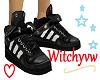 Dunlops-Black 3whtStripe