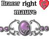 Bracer1 Mauve RIGHT