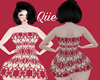 Q_Batik Dress Red