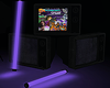 Room TV Retro Purple