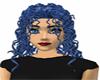Curly Blue hair