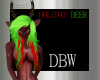 Holiday Deer Hooves