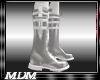 (M~Blade Boots Silver