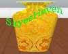 Golden Tall Vase