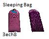 2 Pruple Sleeping bags