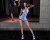 -1m- Sport dress blue rl