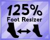 Foot Scaler 125%