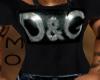 *MS* D & G Black Tshirt