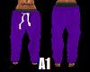 Stem PJ Bottom Purple