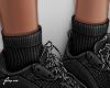f. add on black socks