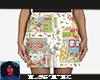Slot  Skirt Moschino