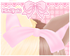 -M- Pink bow 2