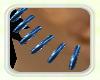 [Mdh] Blue Rave Earrings