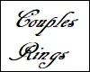 Couples Set Panda Rings