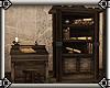 ~E- Pander's Desk N Shlv