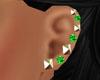 *Studs Diamond Emerald