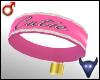 Cutie collar pink (m)