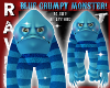 GRUMPY BLUE MONSTER!