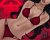 KOBE Bat Red Bikini RLL