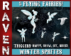 5 WINTER FAIRIES!