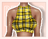B | SunShine Plaid Crop!