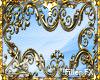 LK* Gold SWIRLING Frame