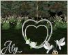 Vintage Wedding Heart