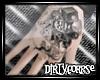 8ball hand tattoo