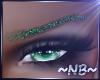 Glittered Grn Diva Brow