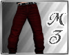 MZ/ Sal Burgandy Jeans