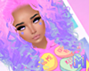 🅜 CANDY: hair pink 2