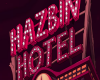 Hazbin Hotel Sign