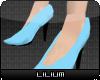 L* Blue Siren Shoes