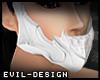 #Evil White Skull Mask