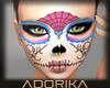 Sugar Skull Mask Webbed
