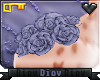 *D* Liv Shoulder Flowers