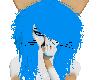 cute bandaid neon blue