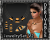 Gemstone Jewelry Set V2