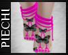 ~P: Neon Butterfly Feet
