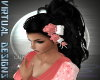 ROSE HAIR FLOWERS PINK