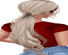 MED BLOND OMBRE LOW PONY