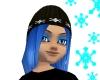 Ice Blue Snowflake