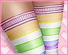 Rainbow Stockings RL